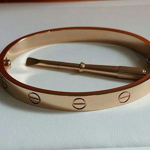 Jewelry - Screw & Screwdriver Bracelet Bangle